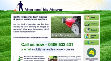 Man and his Mower