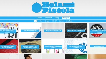 Hola Pistola Graphic Design